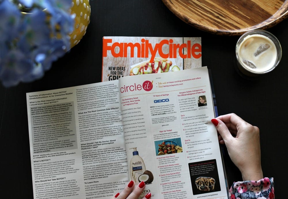 Family Circle Mom Fabulous August 2016