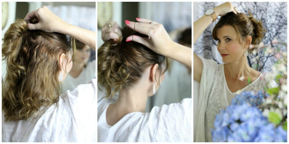 How to do a ponytail with volume