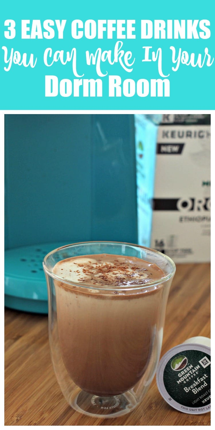 3 Easy Coffee Drinks You Can Make In Your Dorm Room | Mom Fabulous
