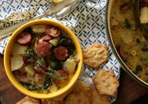 Creamy Smoked Sausage and Potato Soup