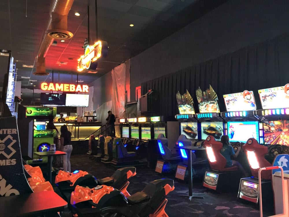Dave & Buster's is the ONLY place to Eat, Drink, Play & Watch Sportsî all under one roof! General Info At Dave & Buster's you can play hundreds of the hottest new arcade games in our Million Dollar Midway and win tickets for epic prizes.