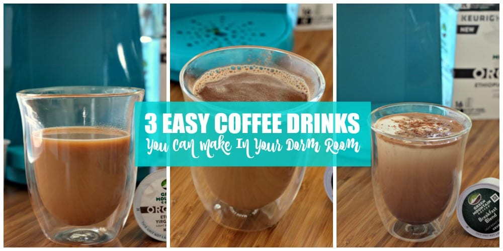 easy coffee drinks for the dorm 01