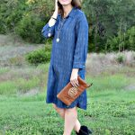 An Easy to Wear Tensel Dress for Fall
