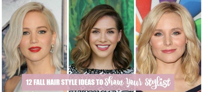 Need a New Cut? 12 Fall Hair Style Ideas to Show Your Stylist
