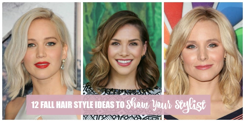 These 12 fall hair style ideas will give you just the inspiration you need to make a change. And this is the perfect season for change!