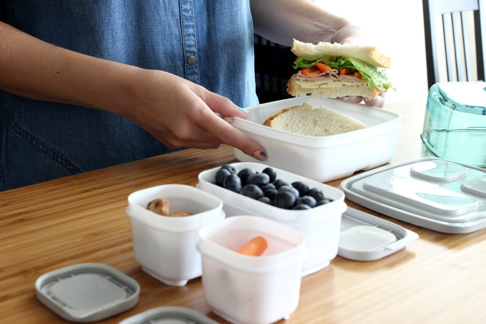 Lunch packing tips: 5 tips to creating a lunch packing station that saves you time