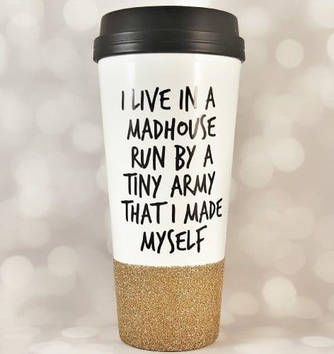 Drink All The Coffee Run All The Miles Mug