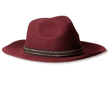 women wool fedora hat