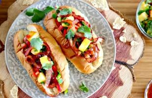 Game Day Food: Aloha Dogs