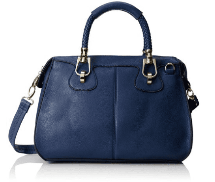 MG Collection Marissa Top-Handle Doctor Shoulder Bag