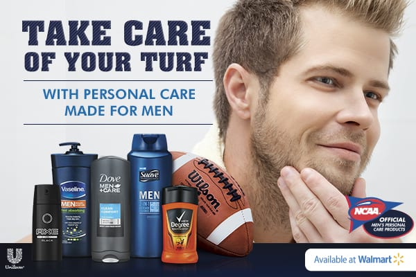 Unilever Men's products