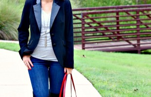 Fall Fashion: A Black Blazer Outfit
