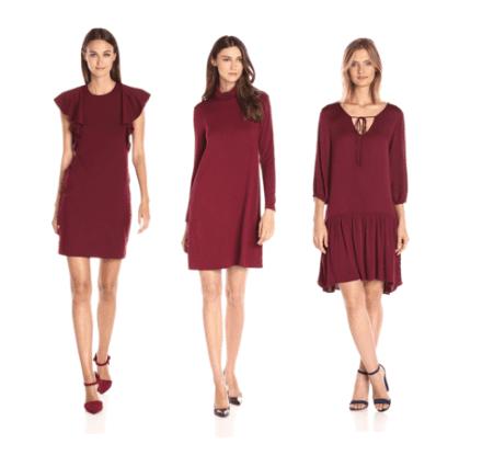 burgundy-dresses