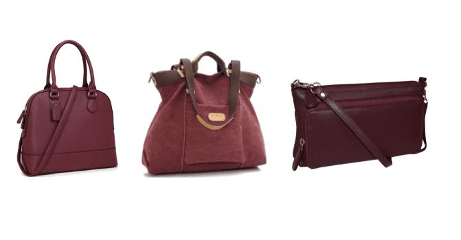 burgundy-handbags