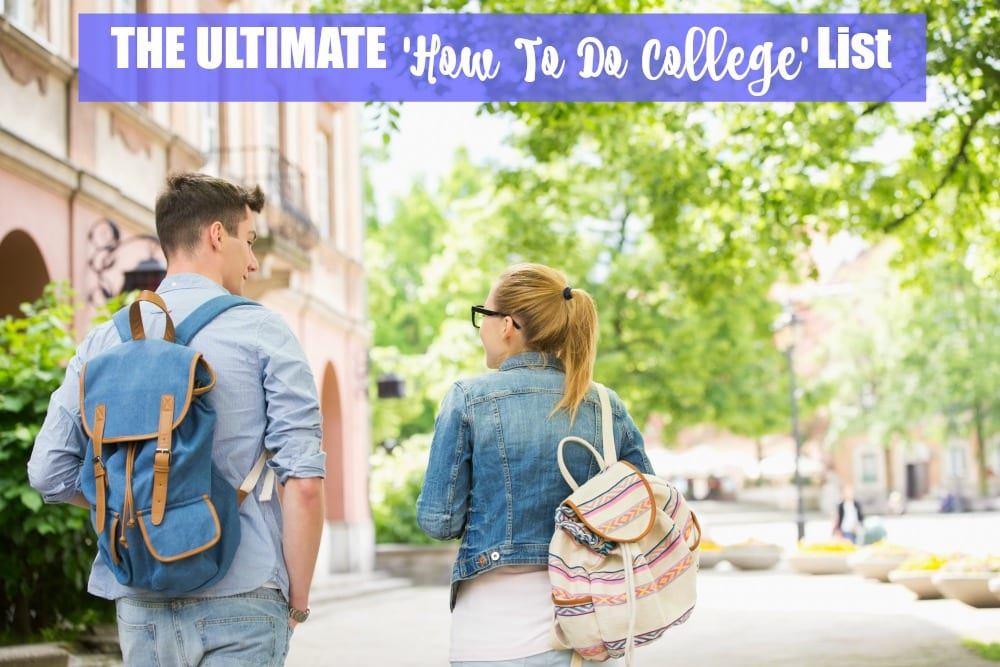 The Ultimate'How To Do College' List shares tips, tricks and hacks for getting the most out of your college experience. From how to become a morning person and dorm room decor, to what to do about doctor appointments and student discounts, I hope this guide helps you have the best year ever.