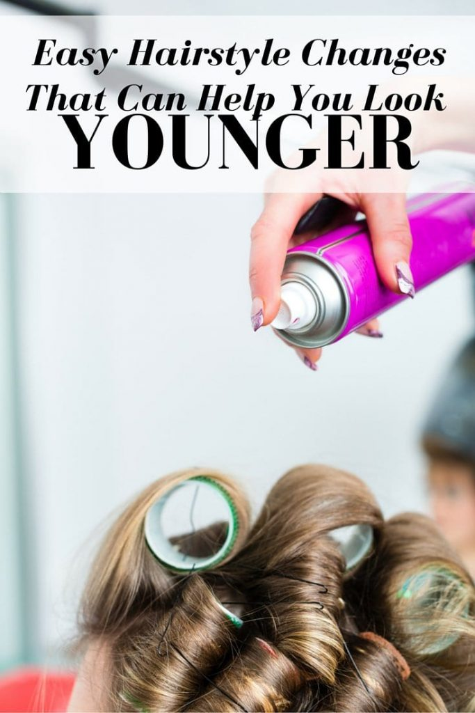Easy hairstyle changes that help you look younger