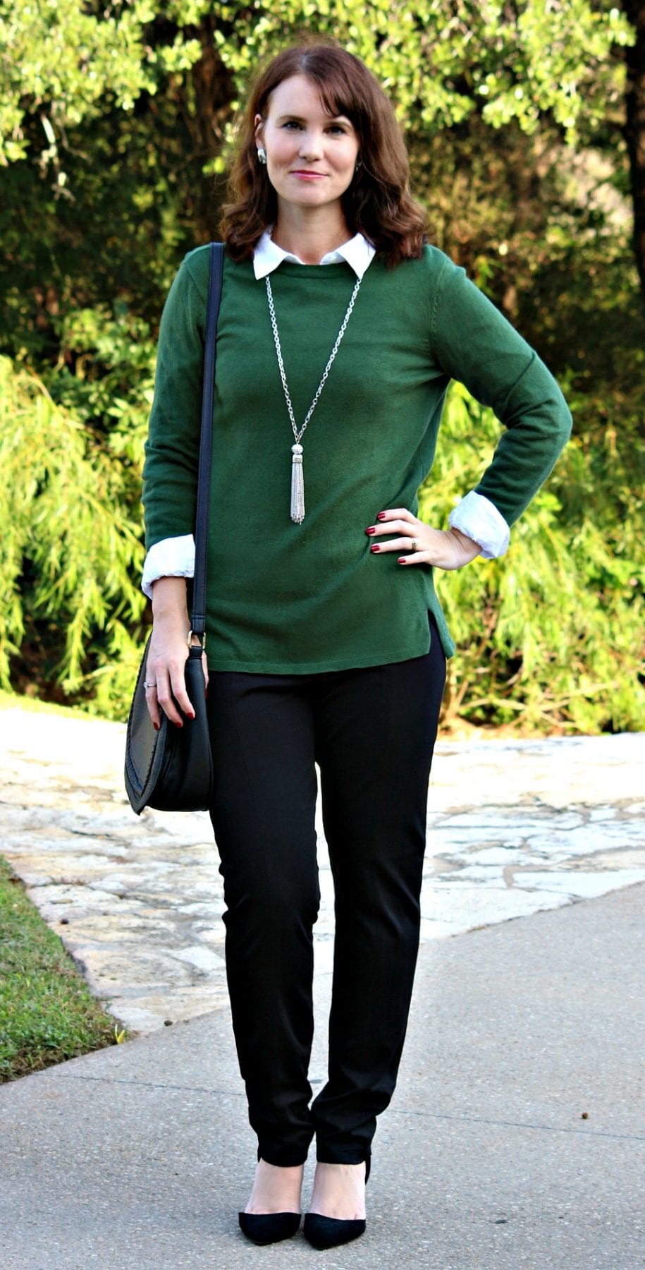 One Pair of Black Pants + 3 Outfit Ideas for Work | Mom Fabulous