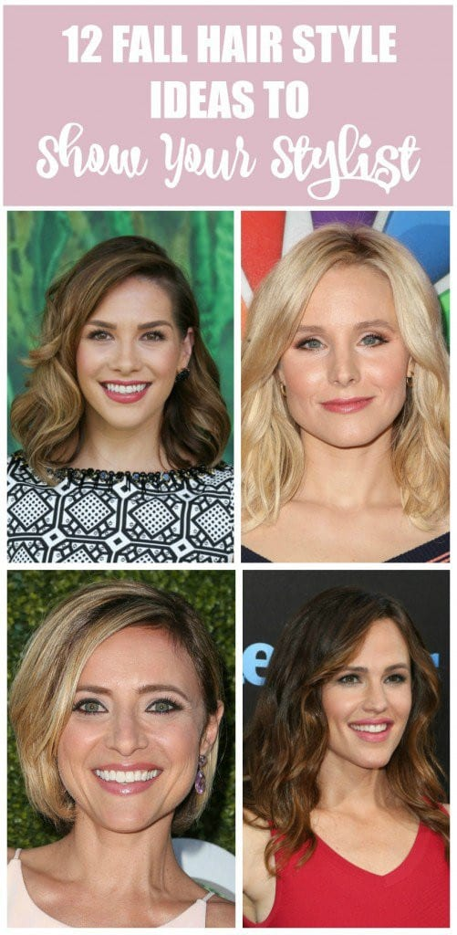 Fall hairstyle ideas to show your stylist
