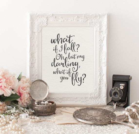 These 10 digital art prints with inspirational quotes will boost your spirits and motivate you to live a life you love. Surround your home and work space with positive messages!