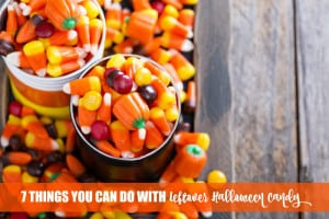7 Things You Can Do With Leftover Halloween Candy