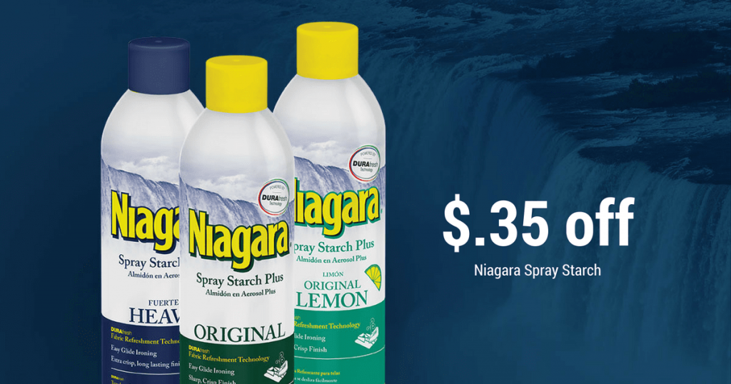 Niagara Spray Starch Coupon