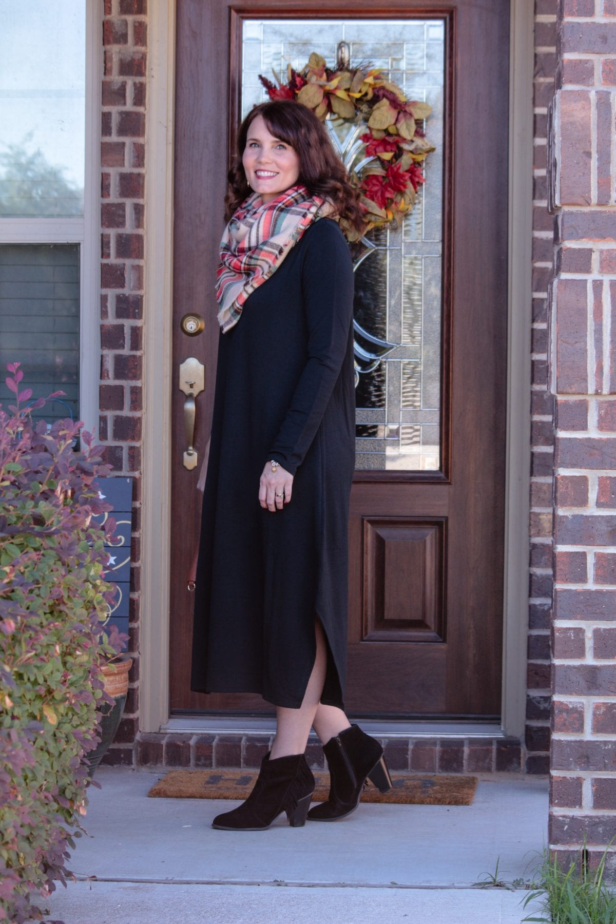 f51132bf747 PURE JILL LUXE TENCEL® DIPPED-HEM DRESS · Women s Fashion and outfit ideas  from Mom Fabulous  Living Life in J. Jill s New ...