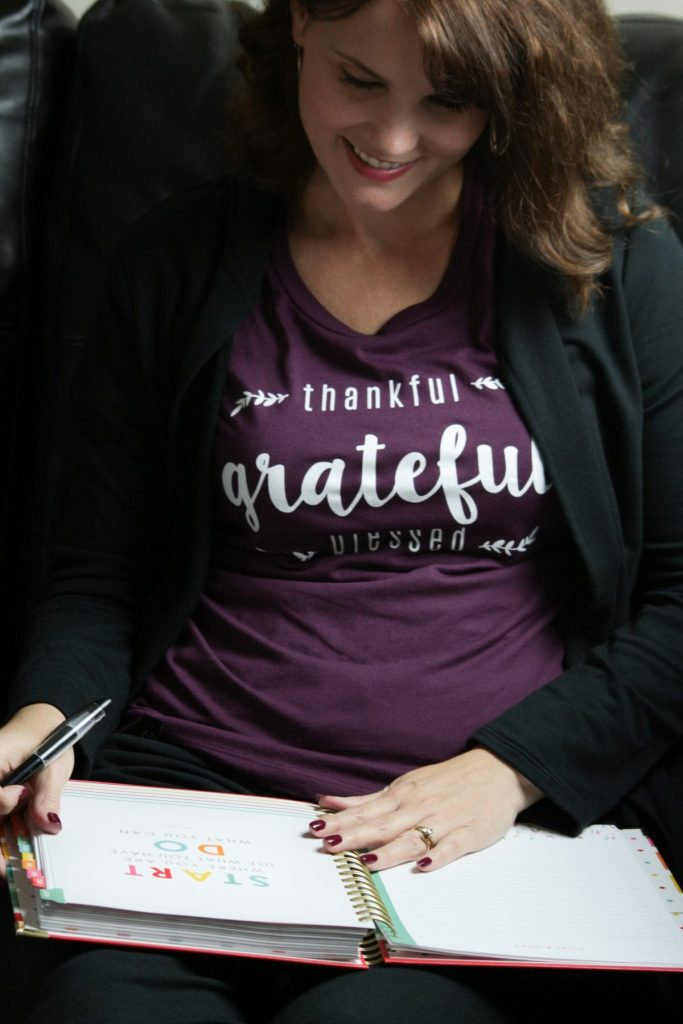 Women's Fashion and outfit ideas from Mom Fabulous - Thankful Grateful Blessed Shirt