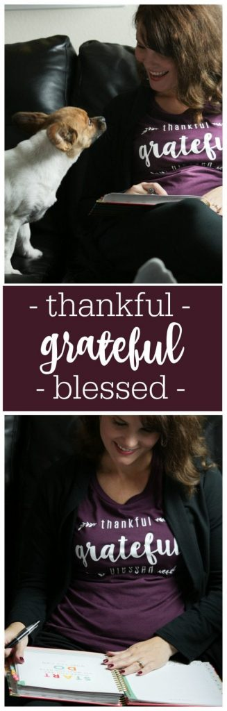Women's Fashion and outfit ideas from Mom Fabulous - Get your Thankful Grateful Blessed Shirt for yourself or as a gift this Holiday season.