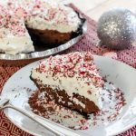 The Best Chocolate Pie Recipe (With Peppermint Whipped Cream!)