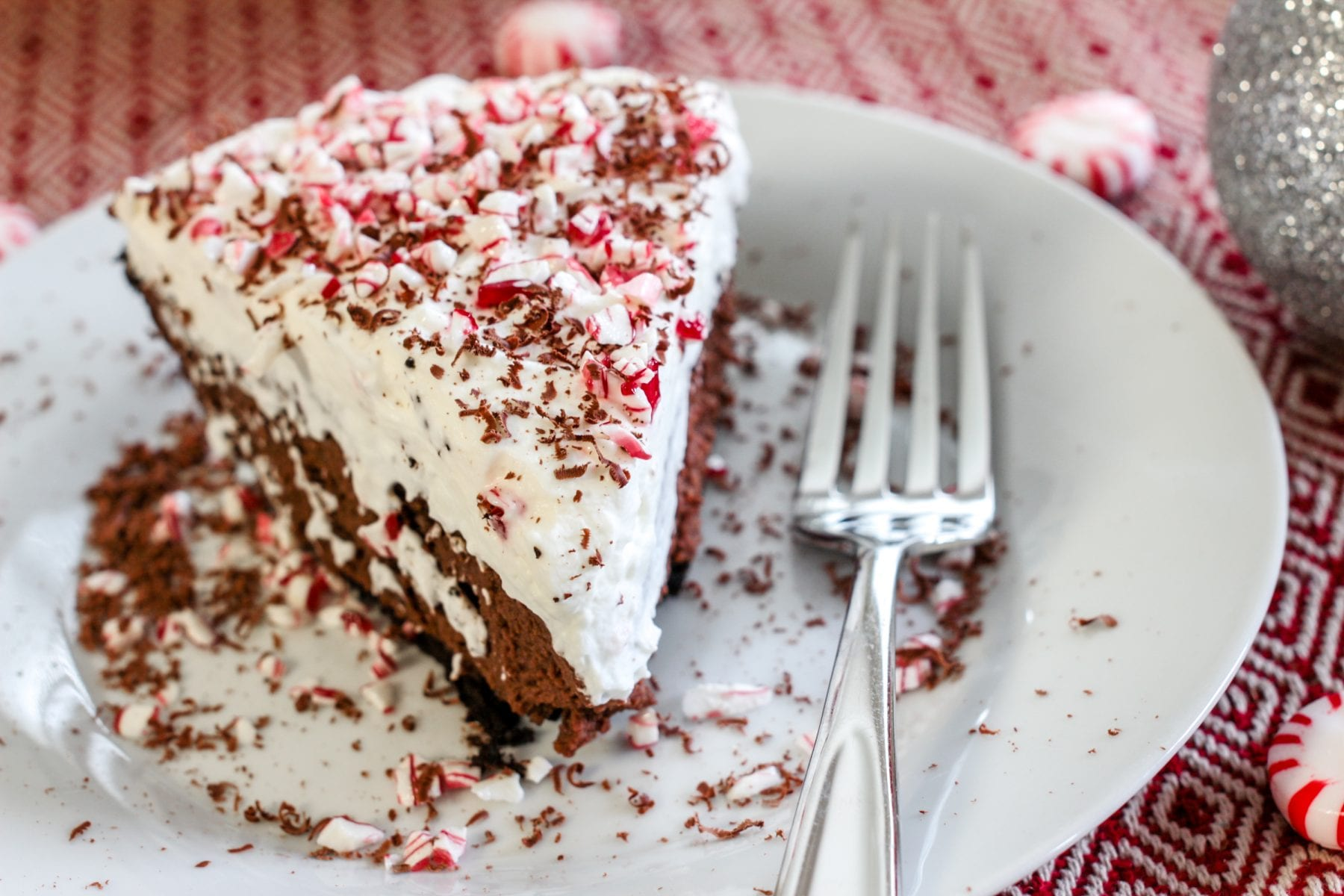 The Best Chocolate Pie Recipe (With Peppermint Whipped Cream ...