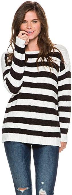 BB Dakota Women's Marcus Striped Sweater