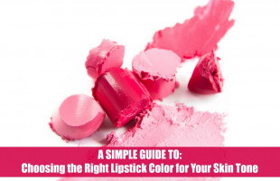 A Simple Guide to Choosing the Right Lipstick Color for Your Skin Tone