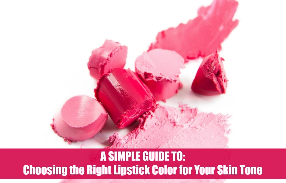 A Simple Guide to Choosing the Right Lipstick Color for ...