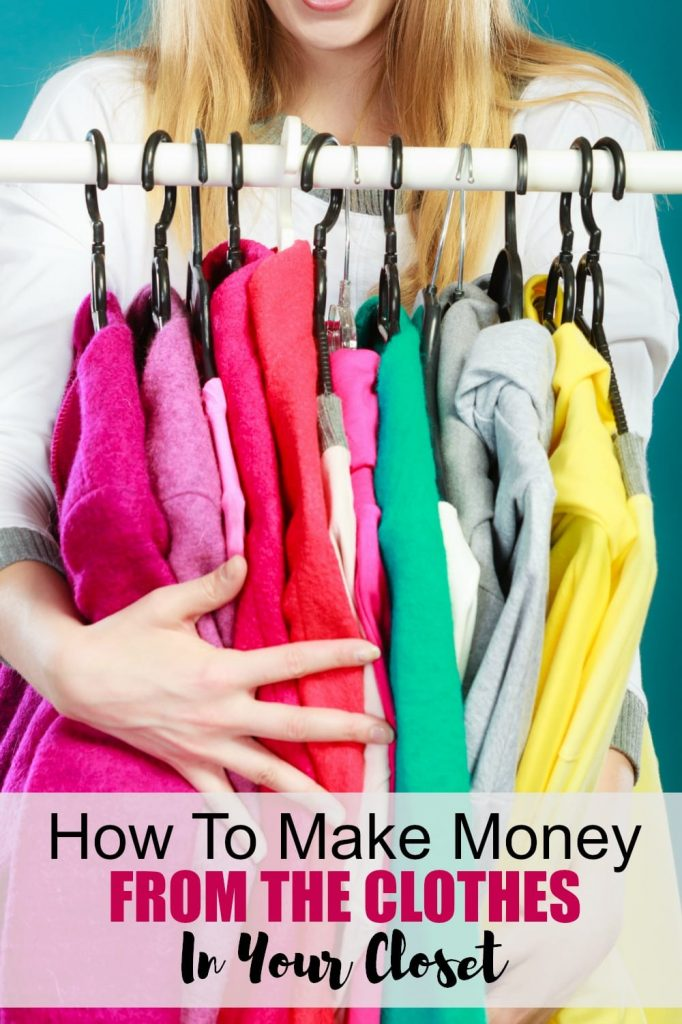 How to make money selling your clothes: You can make money just from cleaning out your closet. Here's how!