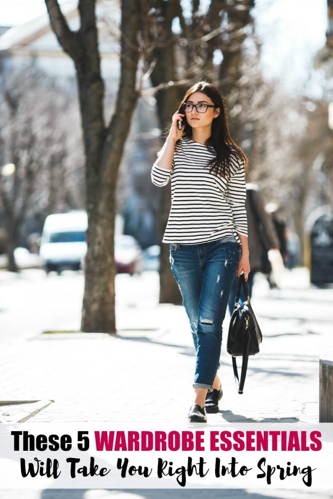 Are you looking for a few wardrobe essentials to invest in now that you can also wear in the spring? Look no further! I'm talking about five of my favorites that I think you'll love as well.
