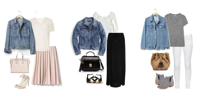Denim Jacket Outfits Spring