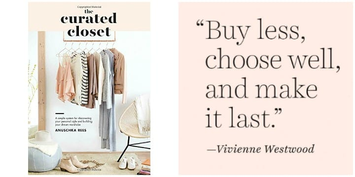 The Curated Closet Featured Image