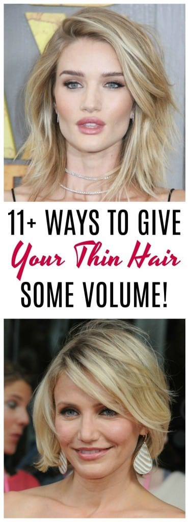How to give your thin hair volume