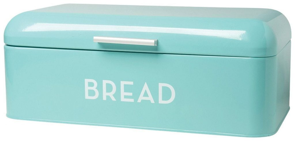 Retro Kitchen Accessories - Turquoise Blue bread bin