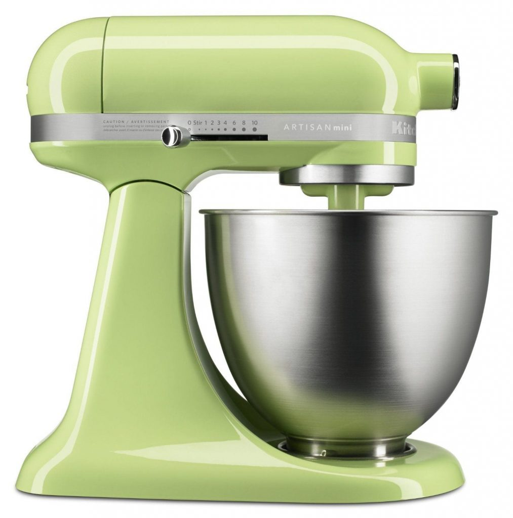 Retro kitchen accessories - KitchenAid KSM3311XHW Artisan Mini Series