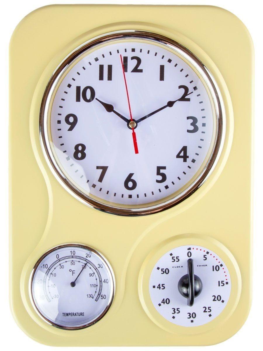Retro Kitchen Wall Clocks 17 Retro Kitchen Accessories Thatll Give You A Blast From The