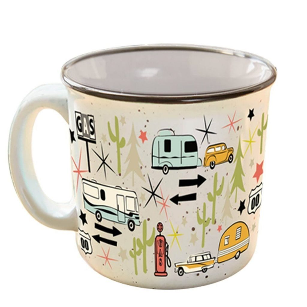Retro Kitchen Accessories - Ceramic Mug
