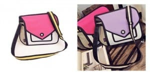 Quirky Gift Idea for Graduates: These 2-D Bags Will Mess With Your Mind