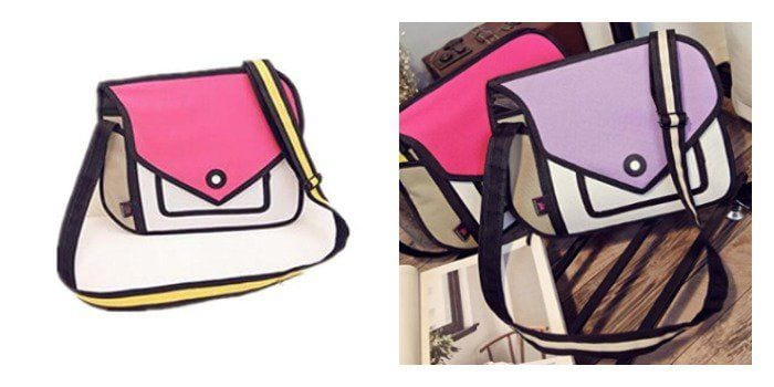 How crazy are these?! 2-D Bags that will mess with your mind. A great gift idea for graduates!