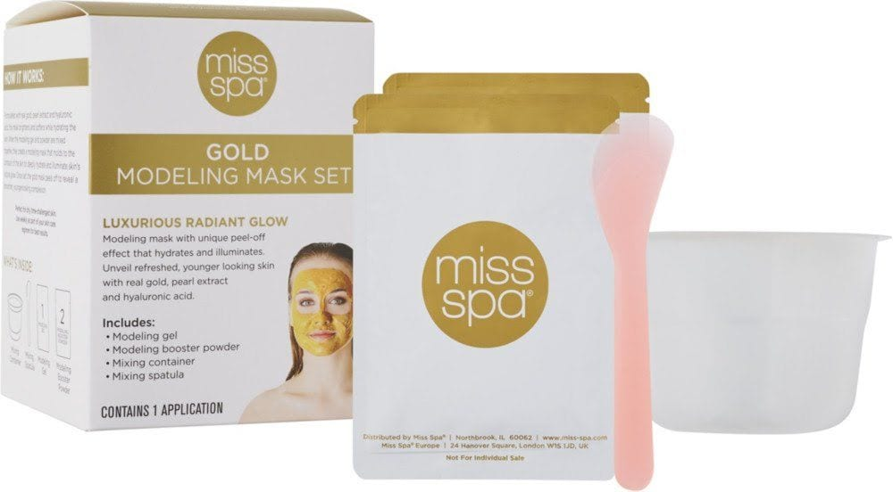 24K Gold Modeling Mask Kit
