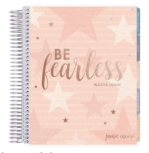 Erin Condren Planners team up with Nastia Liukin.