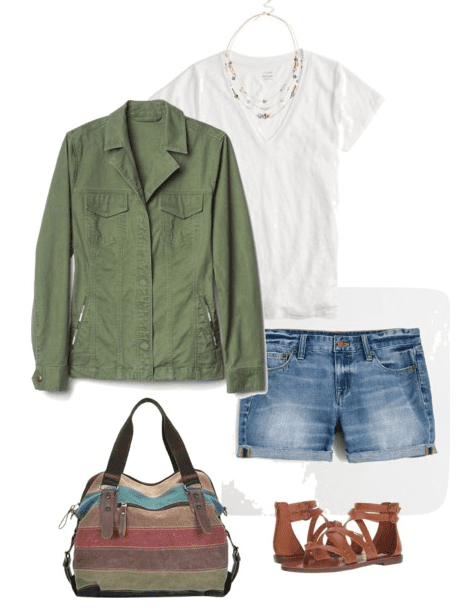 Do you need some ideas on what to wear this summer? Well, break out the denim because I think you'll find a denim shorts outfit idea or two you'll love!