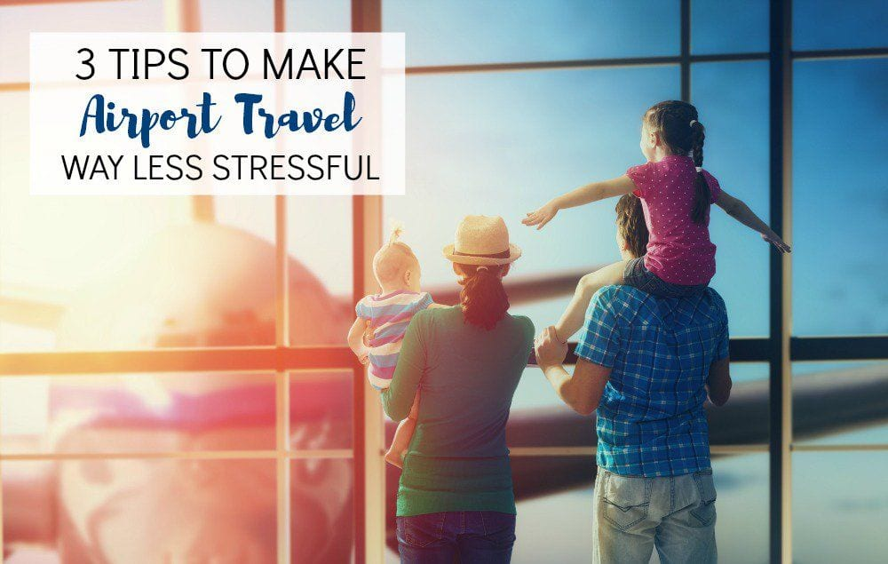 Has airport travel been stressful for you in the past? These 3 tips will help make it all go a bit smoother.