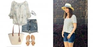 7 Denim Shorts Outfit Ideas You'll Love
