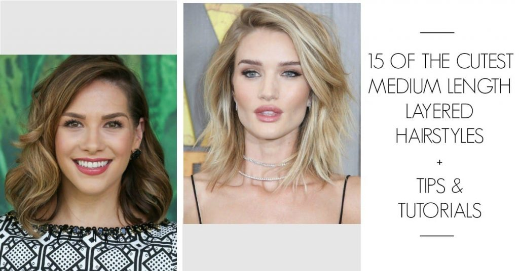 Do you need some new hairstyle ideas? These 15 medium length layered hairstyles will have you booking an appointment with your stylist asap!